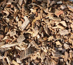 Bark Chippings, looks great and retains moisture
