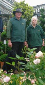 Richard and Lorraine of Downside Nurseries