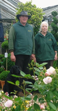 Richard and Lorraine of Downside Nurseries